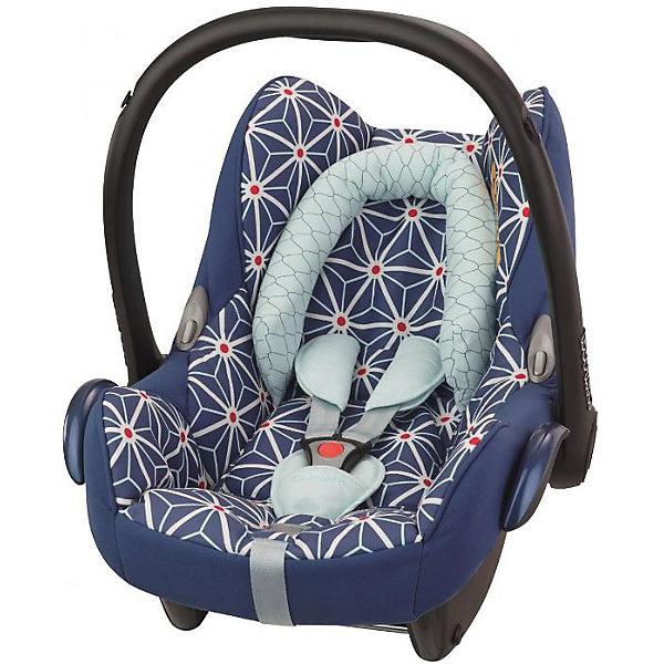 Автокресло Maxi-Cosi CabrioFix 0-13 кг, StarГруппа 0+  (до 13 кг)<br>Удобное высокотехнологичное автокресло-переноска позволит перевозить ребенка, не беспокоясь при этом о его безопасности. Оно предназначено для предназначено для детей весом  до 13 килограмм. Такое кресло обеспечит малышу не только безопасность, но и удобство (тент от солнца а и анатомическая подушка). Ребенок надежно фиксируется в кресле и ездит с комфортом.<br>Автокресло устанавливают против движения. Такое кресло дает возможность свободно путешествовать, ездить в гости и при этом  быть рядом с малышом. Конструкция - очень удобная и прочная. Изделие произведено из качественных и безопасных для малышей материалов, оно соответствуют всем современным требованиям безопасности. Оно отлично показало себя на краш-тестах.<br> <br>Дополнительная информация:<br><br>цвет: разноцветный;<br>материал: текстиль, пластик;<br>вес ребенка:  от 0 до 13 кг;<br>вес кресла: 3,5 кг;<br>съемный чехол;<br>карман для вещей;<br>анатомическая подушка;<br>внутренние ремни - трехточечные, с мягкими накладками;<br>регулировка высоты внутренних ремней;<br>регулировка наклона спинки;<br>регулировка высоты подголовника;<br>ручка для переноски;<br>тент от солнца.<br><br>Автокресло CabrioFix 0-13 кг., Star от компании Maxi-Cosi можно купить в нашем магазине.<br>Ширина мм: 445; Глубина мм: 375; Высота мм: 725; Вес г: 3300; Возраст от месяцев: 0; Возраст до месяцев: 12; Пол: Унисекс; Возраст: Детский; SKU: 4709566;