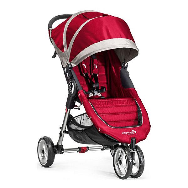 Купить Прогулочная коляска Baby Jogger City Mini Single, красно-серый, Китай, красный, Унисекс