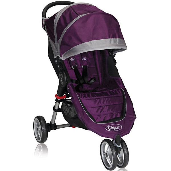 Baby Jogger Прогулочная коляска Baby Jogger City Mini Single, фиолетово-серый baby jogger city mini single