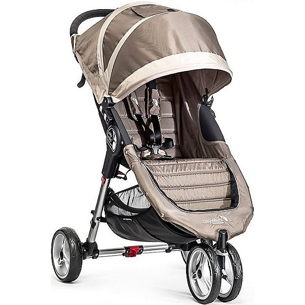 Baby Jogger Прогулочная коляска Baby Jogger City Mini Single, песочно-серый baby jogger city mini single