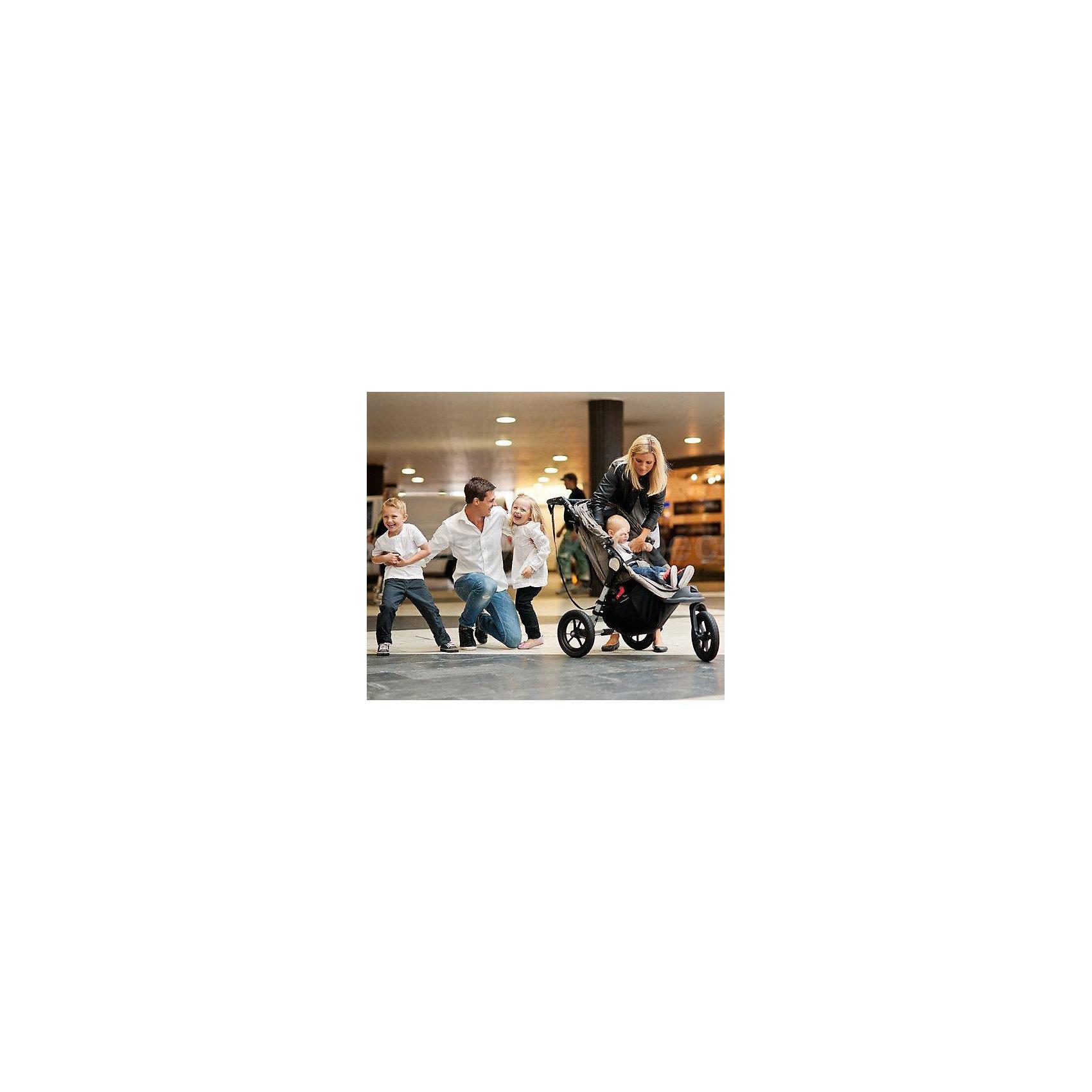Прогулочная коляска City Elite Single, Baby Jogger, серый