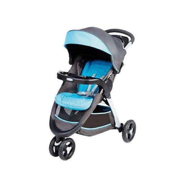 цена на Graco Прогулочная коляска Graco Fastaction Fold, -голубой