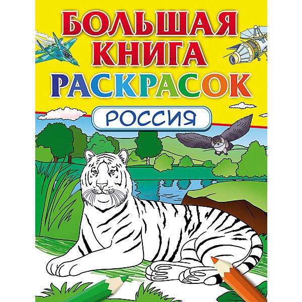 Росмэн Большая книга раскрасок Россия художественные книги росмэн большая новогодняя книга