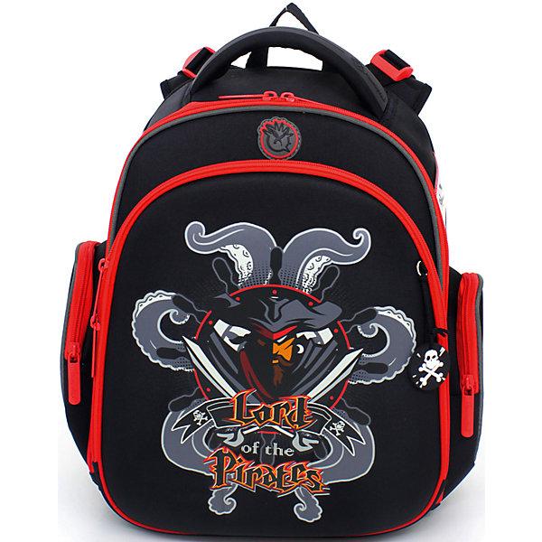 Ранец школьный Hummingbird с мешком для обуви Пират