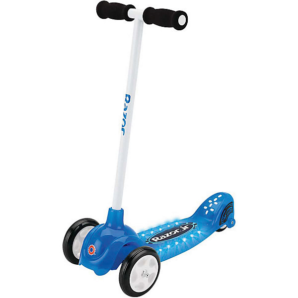 Razor Детский трёхколёсный самокат Lil Tek, синий, Razor самокат razor детский трюковой grom чёрно жёлтый 081608