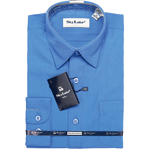 Купить Рубашка для мальчика Skylake, Россия, синий, 158, 122, 152, 146, 140, 134, 128, Мужской