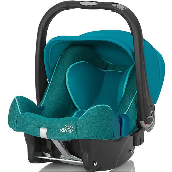Britax Römer Автокресло Britax Romer Baby-Safe Plus SHR II, 0-13 кг, Green Marble автокресло группа 0 0 13 кг britax roemer baby safe i size lagoon green