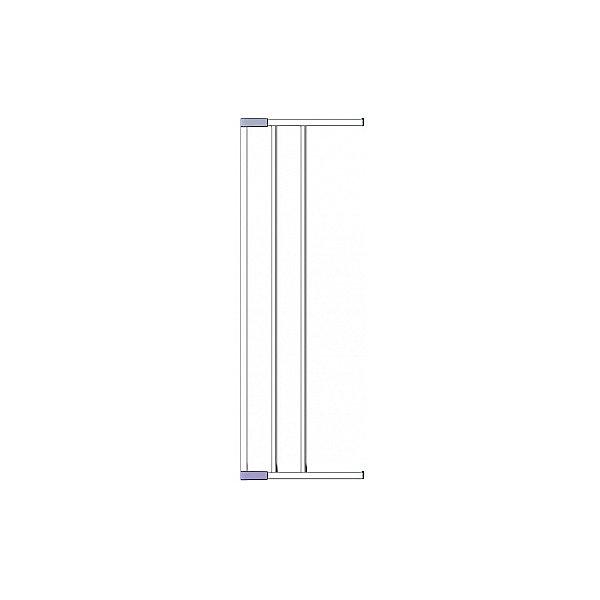 Clippasafe Дополнительная секция к воротам безопасности 18 см, Clippasafe, серебристый