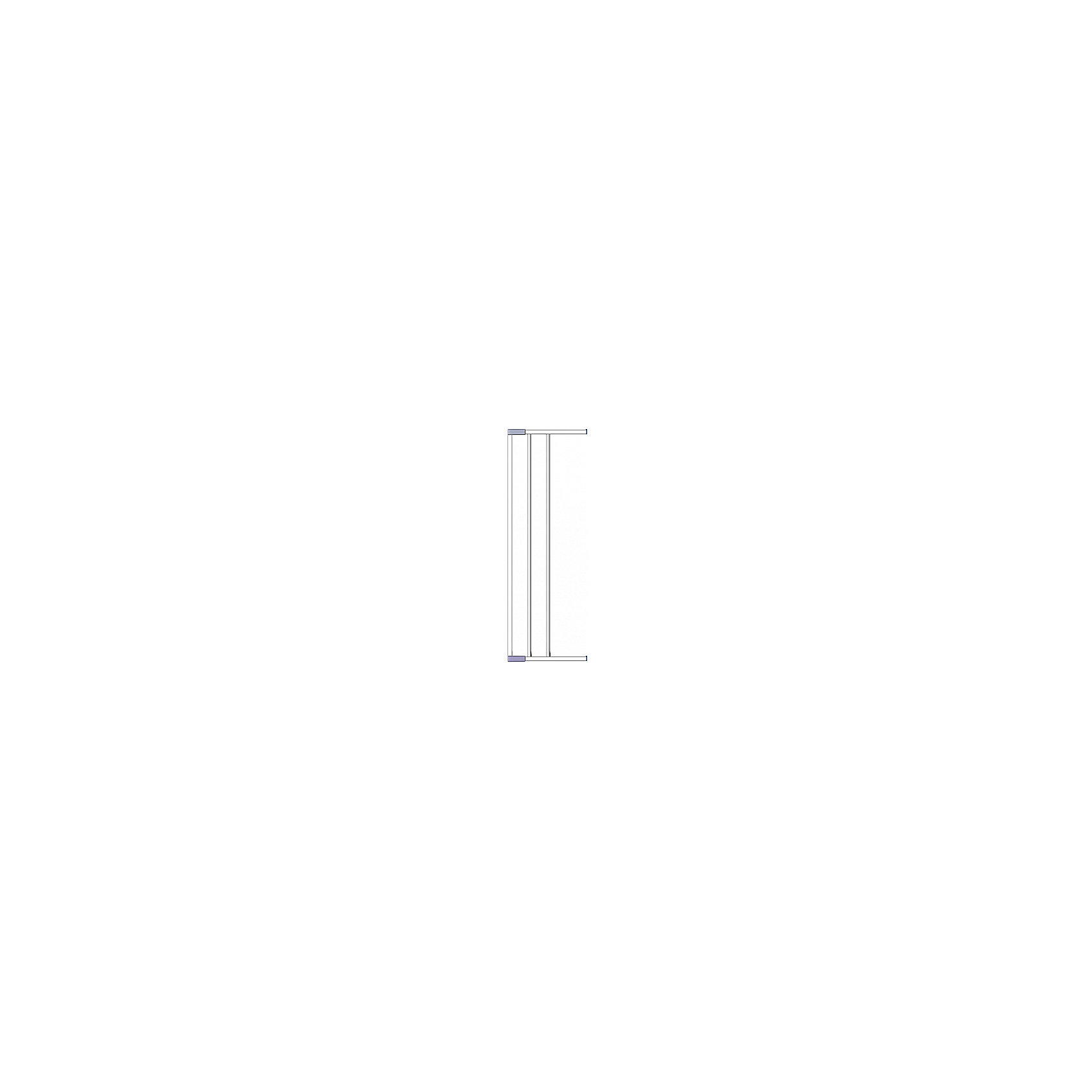 Дополнительная секция к воротам безопасности 18 см, Clippasafe, серебристый