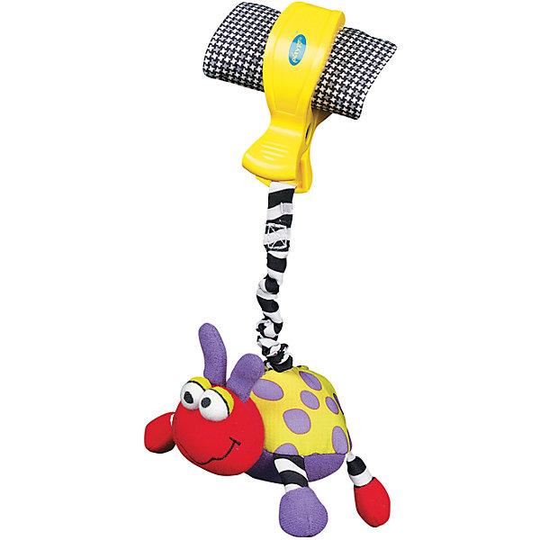 Playgro Игрушка-подвеска Божья коровка, Playgro игрушки из дерева лабиринт божья коровка