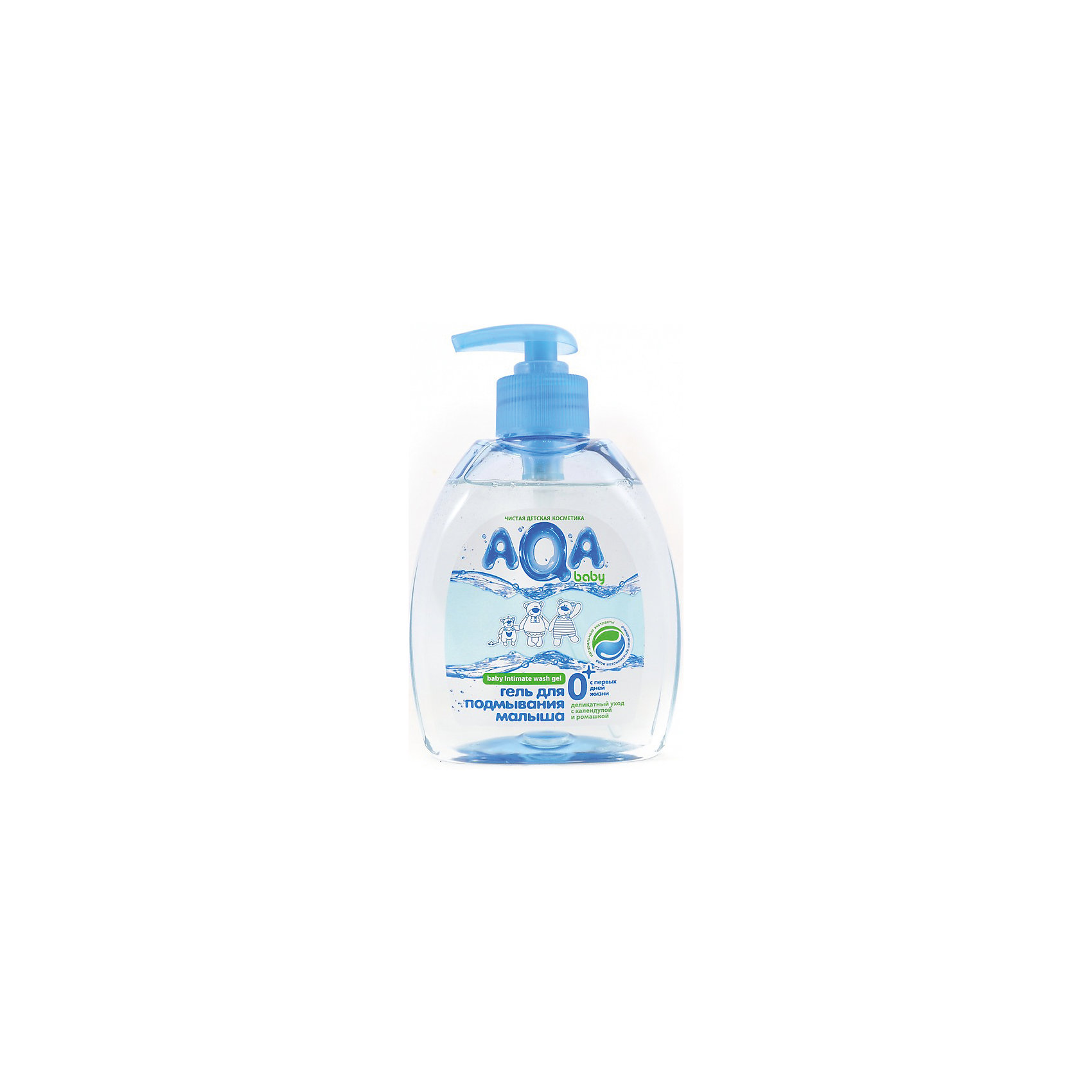 Гель для подмывания малыша, 300 мл., AQA baby