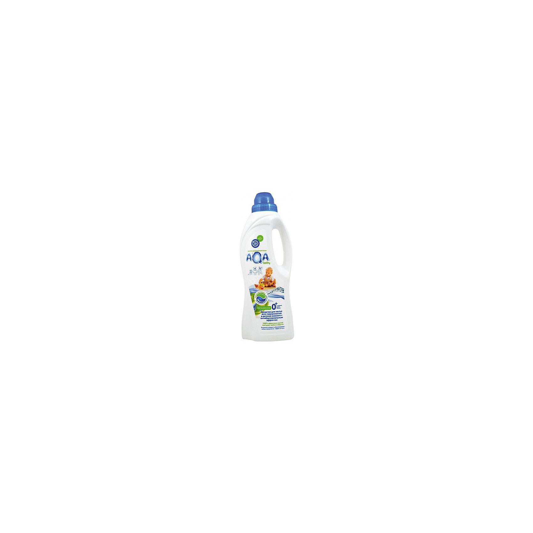 Средство для мытья всех поверхностей в детской комнате с антибактериальным эффектом, AQA baby
