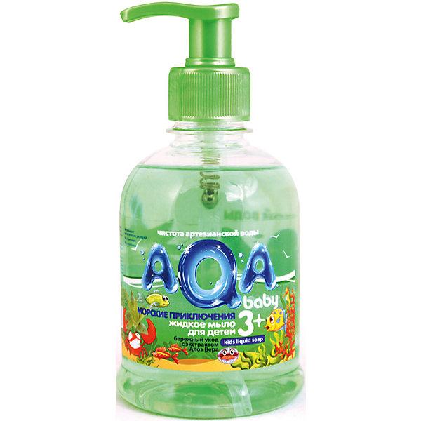 AQA baby Жидкое мыло Baby Морские приключения 300 мл.