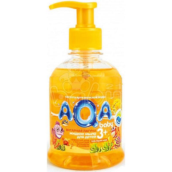 AQA baby Жидкое мыло Baby Янтарная лагуна 300 мл.