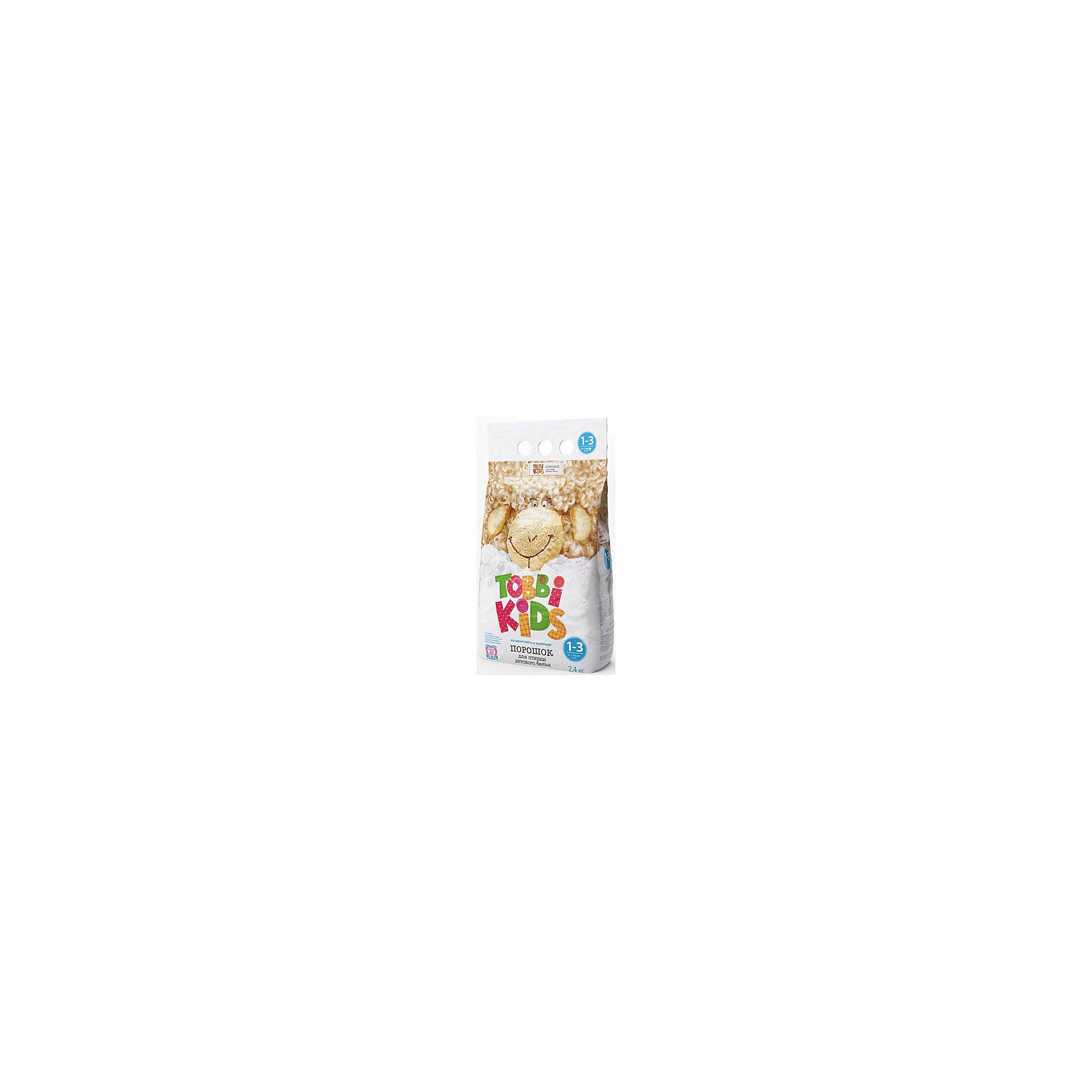 Стиральный порошок 1-3 года, Tobbi Kids, 2400гр.