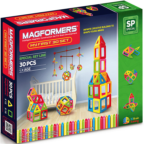 MAGFORMERS Магнитный конструктор My First Magformers 30, MAGFORMERS