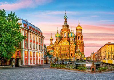 Пазл Храм в Санкт-Петербурге, 500 деталей, Castorland