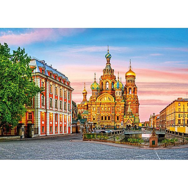 Castorland Пазл Храм в Санкт-Петербурге, 500 деталей, Castorland