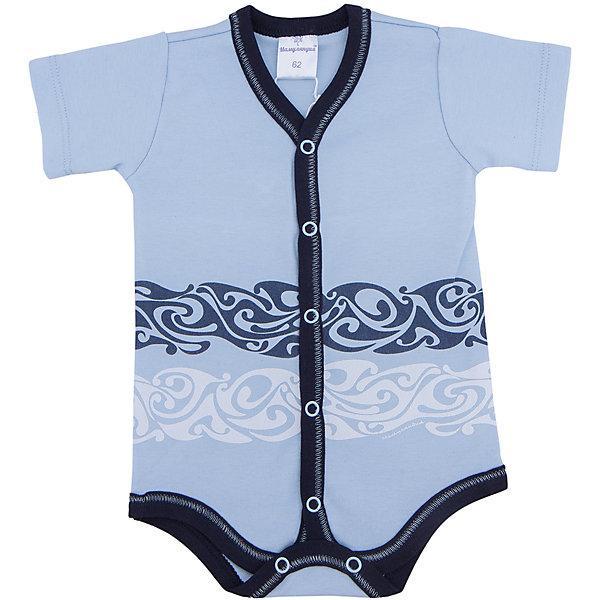 Боди для мальчика МамуляндияБоди<br>Боди  с короткими рукавами из трикотажноготна высшего качества (интерлок пенье). Украшен гипоаллергенным принтом на водной основе, удобное расположение кнопок для переодевания малыша или смены подгузника.<br>Состав 100% хлопок. <br>Рекомендации по уходу: стирать при 40 С, гладить при средней температуре, носить с удовольствием.  100% хлопок<br>Ширина мм: 157; Глубина мм: 13; Высота мм: 119; Вес г: 200; Цвет: голубой; Возраст от месяцев: 2; Возраст до месяцев: 5; Пол: Мужской; Возраст: Детский; Размер: 56,74,68,86,80,62; SKU: 4735680;