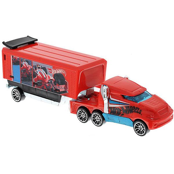 Купить Машинка Hot Wheels Грузовик-трейлер , Mattel, Китай, Мужской