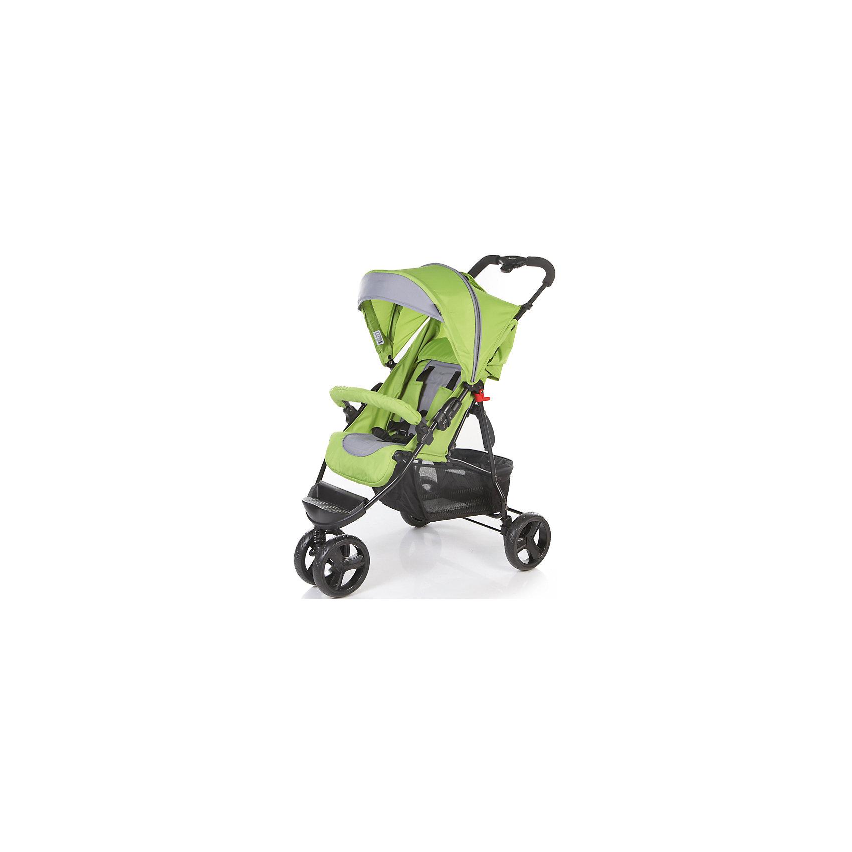 Прогулочная коляска Jetem Mira Lite, зелёный/тёмно-серый