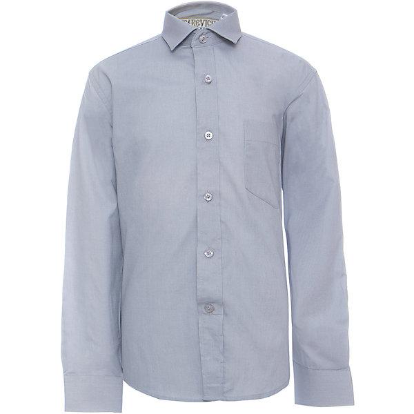 Купить Рубашка для мальчика Tsarevich, Китай, серый, 146/152, 122/128, 164/170, 158/164, 152/158, 140/146, 134/140, 128/134, Мужской