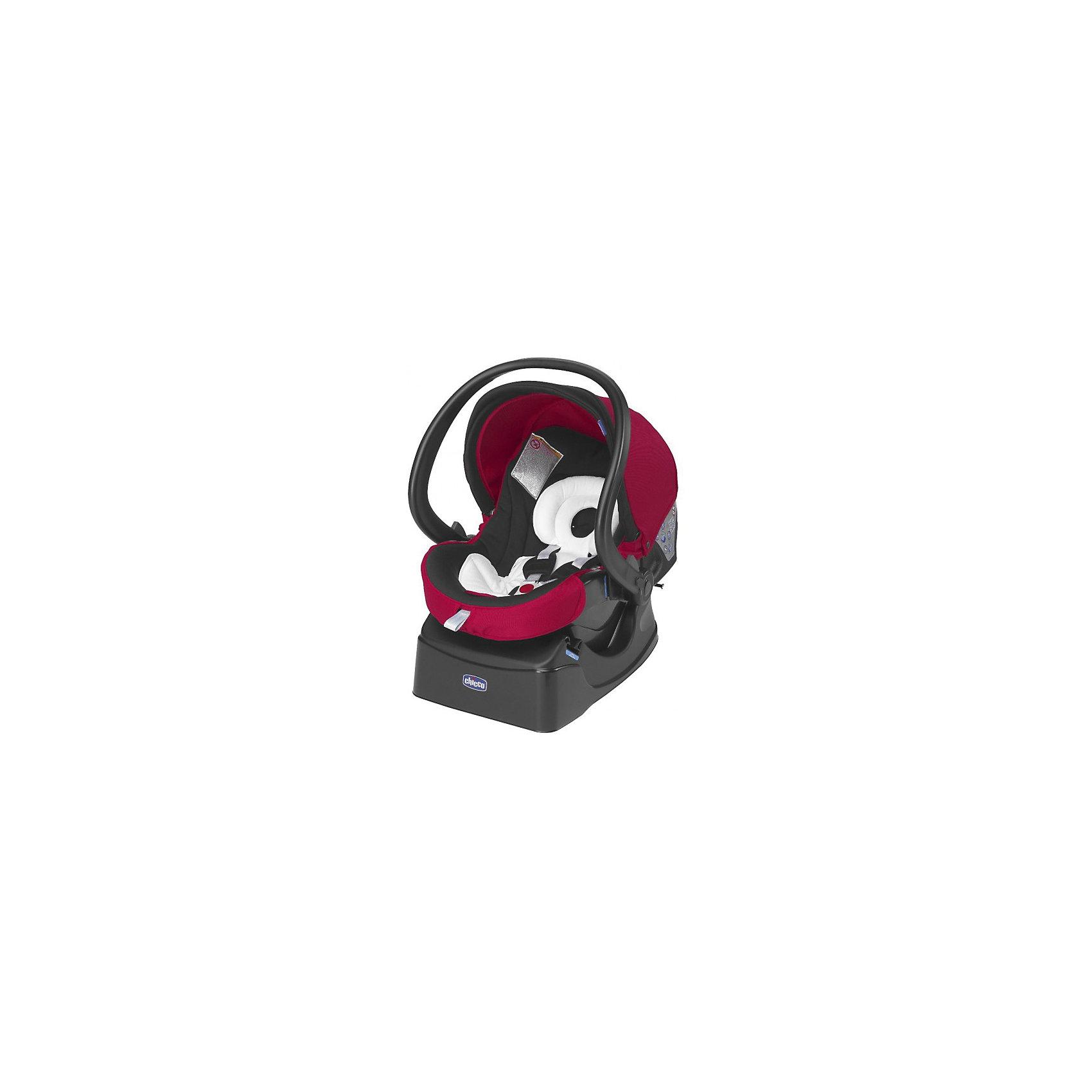 Автокресло CHICCO Auto-Fix Fast Baby, 0-13 кг, красный