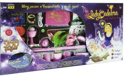 Набор фокусов для девочек  Lady Cadabra  (200 фокусов), артикул:4753820 - Фокусы и розыгрыши