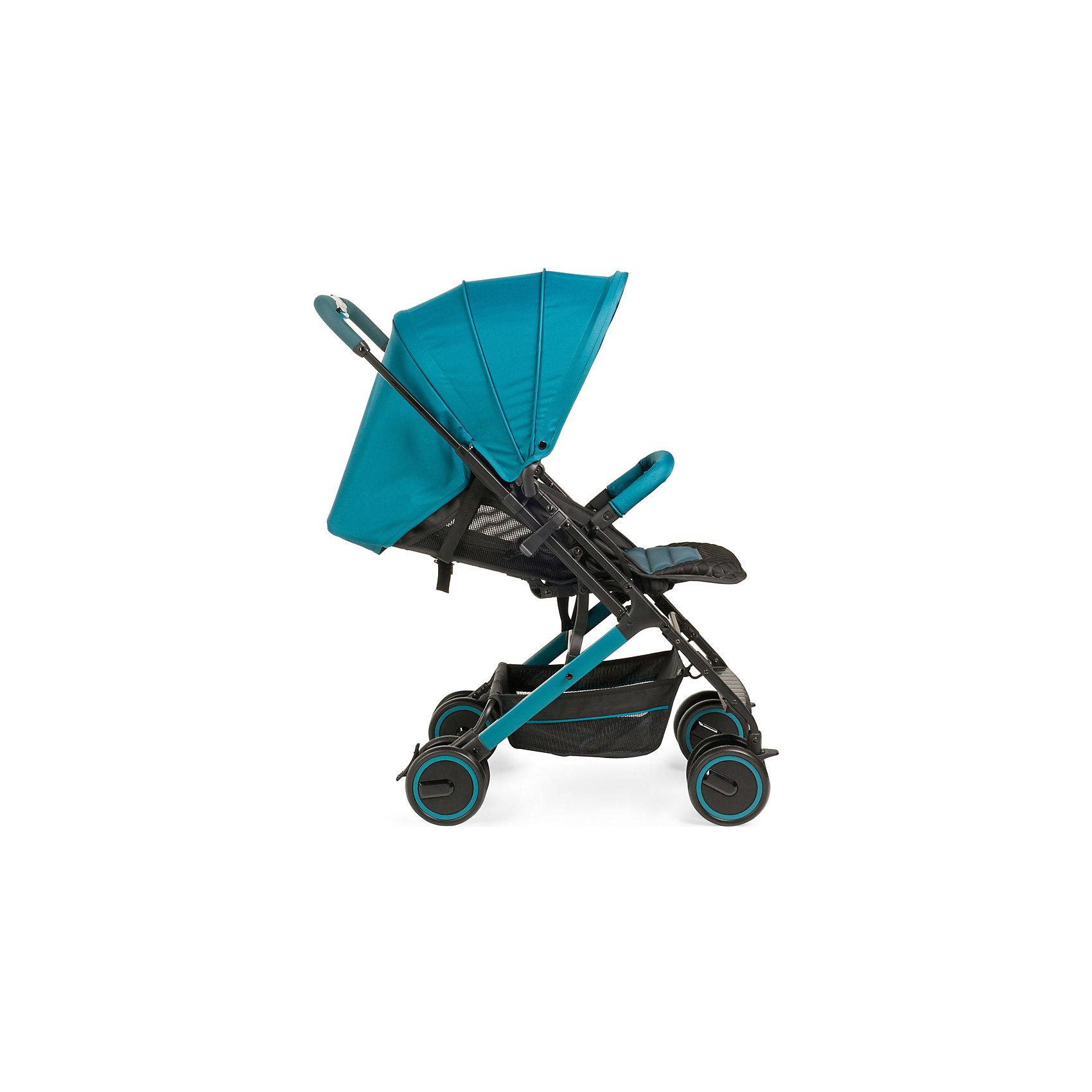 Прогулочная коляска Happy Baby Jetta, аквамарин