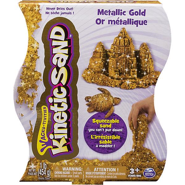 Kinetic sand Песок для лепки Kinetic sand, металлик, 455гр песок для лепки kinetic sand яркие цвета драгоценные камни 455гр