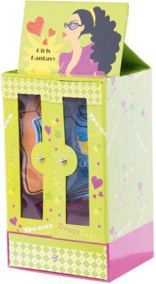 Подарочный канцелярский набор  Шкаф  (4 блока д ля записи, глиттер), артикул:4756047 - Школьная канцелярия