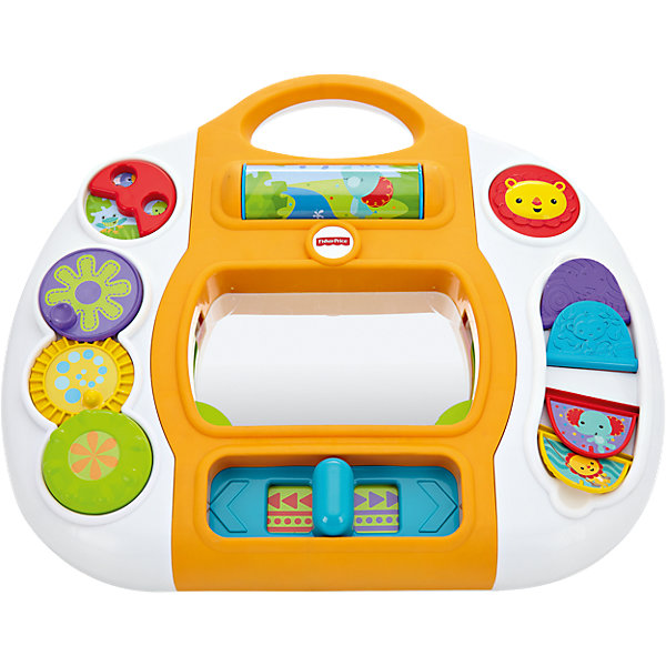 Mattel Развивающая панель Fisher Price Друзья из тропического леса чикко игровая панель в автомобиль мягкая