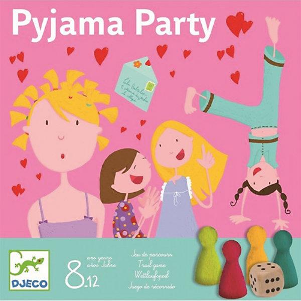DJECO Настольная игра Пижамная вечеринка, DJECO цена