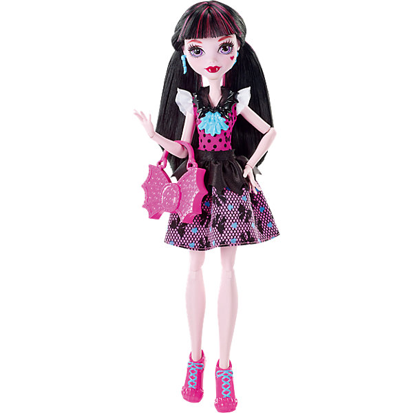 Mattel Кукла Дракулаура в модном наряде, Monster High monster high кукла пиратская авантюра дракулаура