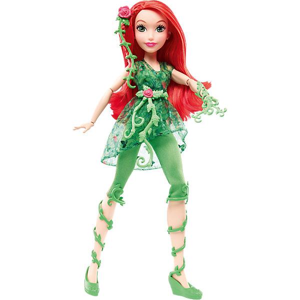 Кукла Ядовитый плющ DC Super Hero GirlsКуклы модели<br>Характеристики товара:<br><br>• упаковка: коробка-блистер<br>• материал: пластик<br>• серия: DC Super Hero Girls<br>• руки, ноги гнутся<br>• высота куклы: 30 см<br>• возраст: от трех лет<br>• размер упаковки: 20х10х32 см<br>• вес: 0,3 кг<br>• страна производства: Китай<br>• страна бренда: США<br><br>Барби может разной! Такой современный образ изящной куклы порадует маленьких любительниц вселенной супергероев. Она позволит придумать множество игр со своими любимыми персонажами. Кукла отлично детализирована. Высота - 30 сантиметров, поэтому и выглядит героиня внушительно.<br><br>Игры с такими куклами - это не только весело, они помогают детям развить воображение, творческое и пространственное мышление, мелкую моторику . Игрушки от бренда Mattel отличаются стабильно высоким качеством и уже давно радуют детей по всему миру! <br><br>Куклу Ядовитый плющ DC Super Hero Girls от компании Mattel можно купить в нашем интернет-магазине.<br>Ширина мм: 326; Глубина мм: 205; Высота мм: 83; Вес г: 356; Возраст от месяцев: 72; Возраст до месяцев: 120; Пол: Женский; Возраст: Детский; SKU: 4765394;