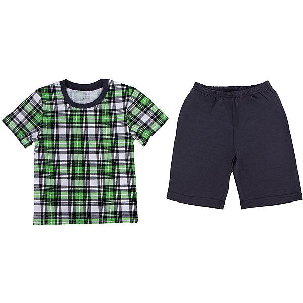 Купить Пижама для мальчика Апрель, Россия, зеленый, 86, 92, 116, 110, 104, Мужской