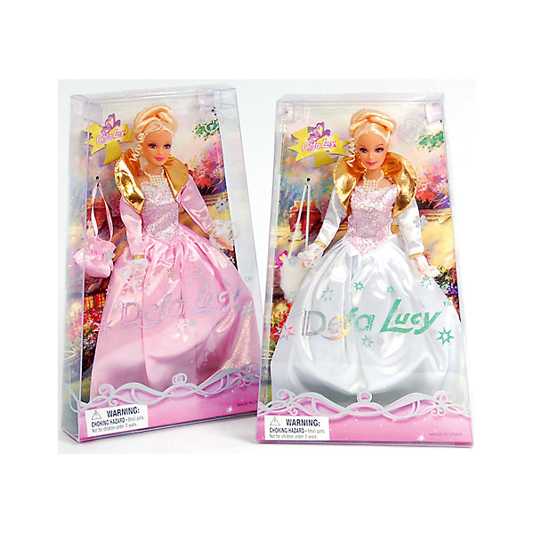 Defa Lucy Кукла-принцесса с сумкой, Defa Lucy пальто lucy
