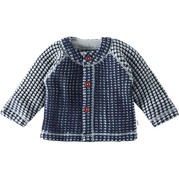 Кардиган Lore для мальчика ReimaТолстовки, свитера, кардиганы<br>Кардиган  Reima<br>Кардиган для самых маленьких. Шерсть идеально поддерживает температуру. Мягкая и теплая ткань из смеси шерсти. Пуговицы по всей длине. Мягкие плоские швы для дополнительного комфорта: не раздражает кожу. Декоративный вязаный узор.<br>Уход:<br>Стирать с бельем одинакового цвета, вывернув наизнанку. Застегнуть молнии. Стирать моющим средством, не содержащим отбеливающие вещества. <br>Состав:<br>50% Шерсть, 50% полиакрил<br>Ширина мм: 190; Глубина мм: 74; Высота мм: 229; Вес г: 236; Цвет: синий; Возраст от месяцев: 9; Возраст до месяцев: 12; Пол: Мужской; Возраст: Детский; Размер: 80,74,68,56,50,62; SKU: 4775426;