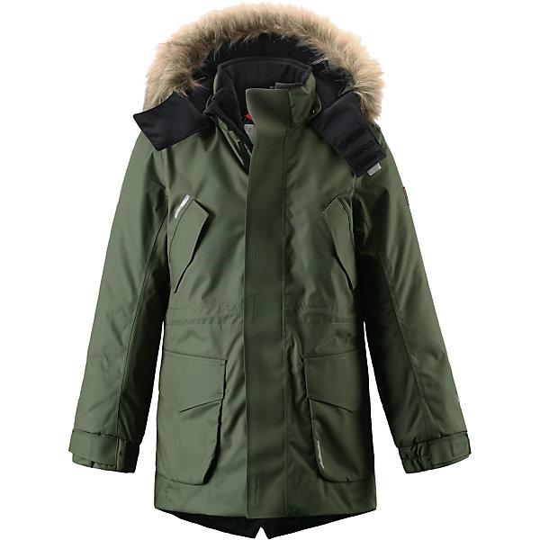 Купить Куртка Naapuri для мальчика Reimatec® Reima, Китай, зеленый, 122, 146, 134, 140, 152, 116, 158, 110, 128, 164, 104, Мужской