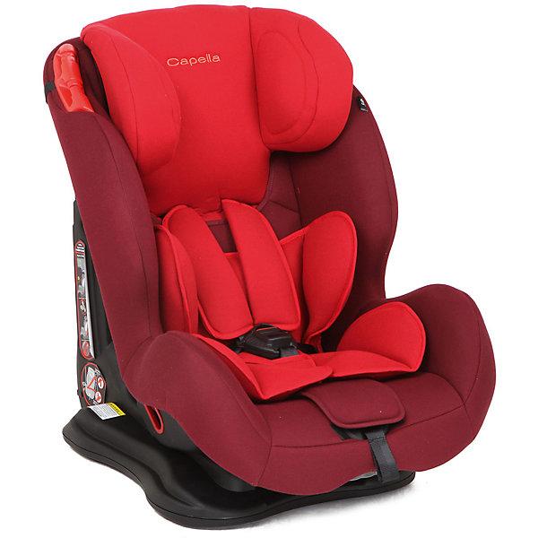 Автокресло CAPELLA 9-36 кг. , Chili Pepper, красный/малиновыйГруппа 1-2-3  (от 9 до 36 кг)<br>Автокресло - необходимый атрибут современной семьи, в которой есть машина. Это высокотехнологичное надежное автокресло позволит перевозить ребенка, не беспокоясь при этом о его безопасности. Оно предназначено для предназначено для детей весом от 9 до 36 килограмм. Такое кресло обеспечит малышу не только безопасность, но и удобство (регулируемые ремни безопасности и анатомическая форма). Ребенок надежно фиксируется в кресле и ездит с комфортом.<br>Автокресло устанавливают по ходу движения. Такое кресло дает возможность свободно путешествовать, ездить в гости и при этом  быть рядом с малышом. Конструкция - очень удобная и прочная. Изделие произведено из качественных и безопасных для малышей материалов, оно соответствуют всем современным требованиям безопасности. Оно отлично показало себя на краш-тестах.<br> <br>Дополнительная информация:<br><br>цвет: красный;<br>материал: текстиль, пластик;<br>вес ребенка:  от 9 до 36 кг;<br>вес кресла: 8,5 кг;<br>внутренние ремни - пятиточечные;<br>широкая мягкая спинка;<br>анатомичная форма;<br>регулировка высоты подголовника;<br>дополнительная защита от боковых ударов;<br>съемный чехол;<br>соответствие стандартам ECE R44/04.<br><br>Автокресло 9-36 кг., Chili Pepper, красный/малиновый от компании CAPELLA можно купить в нашем магазине.<br>Ширина мм: 820; Глубина мм: 530; Высота мм: 450; Вес г: 8500; Возраст от месяцев: 12; Возраст до месяцев: 144; Пол: Женский; Возраст: Детский; SKU: 4778444;