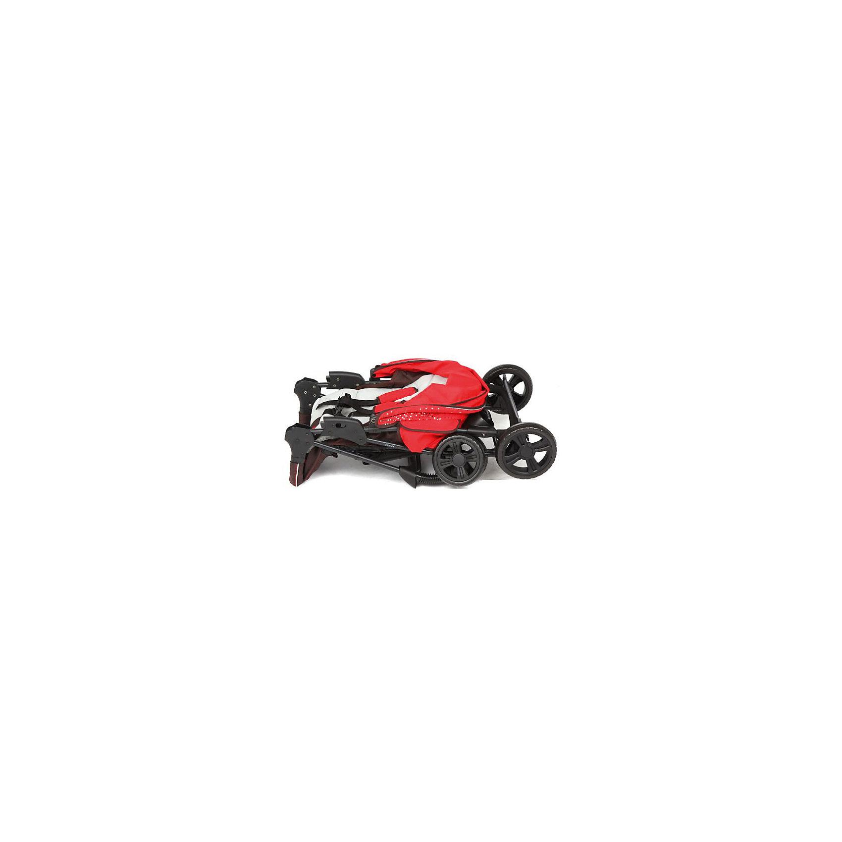 Прогулочная коляска E0970 TEXAS, Mobility One, красный