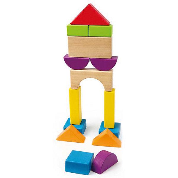 Деревянная игрушка Конструктор, HapeДеревянные конструкторы<br>Деревянный конструктор фирмы Hape выполнен в виде ярких фигур различной формы. При помощи конструктора можно создавать различные строения, такие как пирамидки или домики. Играя в эту игру, ребенок научится логически мыслить, а также различать формы и цвета.<br><br>Дополнительная информация:<br><br>- Возраст: от 1 до 3 лет<br>- В комплекте: 16 деталей<br>- Материал: дерево<br>- Размер: 4х4х31 см<br>- Вес: 0.32 кг<br><br>Деревянную игрушку Конструктор, Hape можно купить в нашем интернет-магазине.<br>Ширина мм: 40; Глубина мм: 40; Высота мм: 310; Вес г: 325; Возраст от месяцев: 12; Возраст до месяцев: 36; Пол: Унисекс; Возраст: Детский; SKU: 4779529;