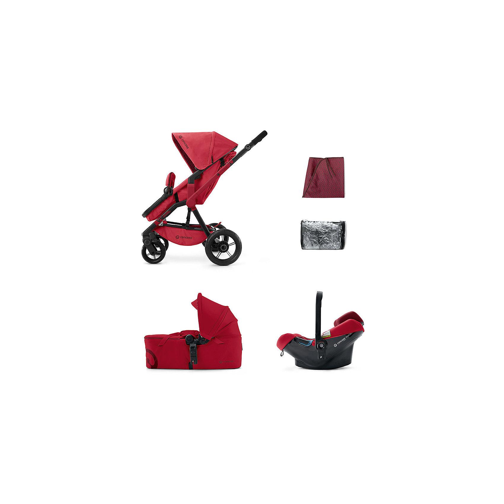 Коляска 3 в 1 Concord Wanderer Mobility Set, Ruby Red 2015