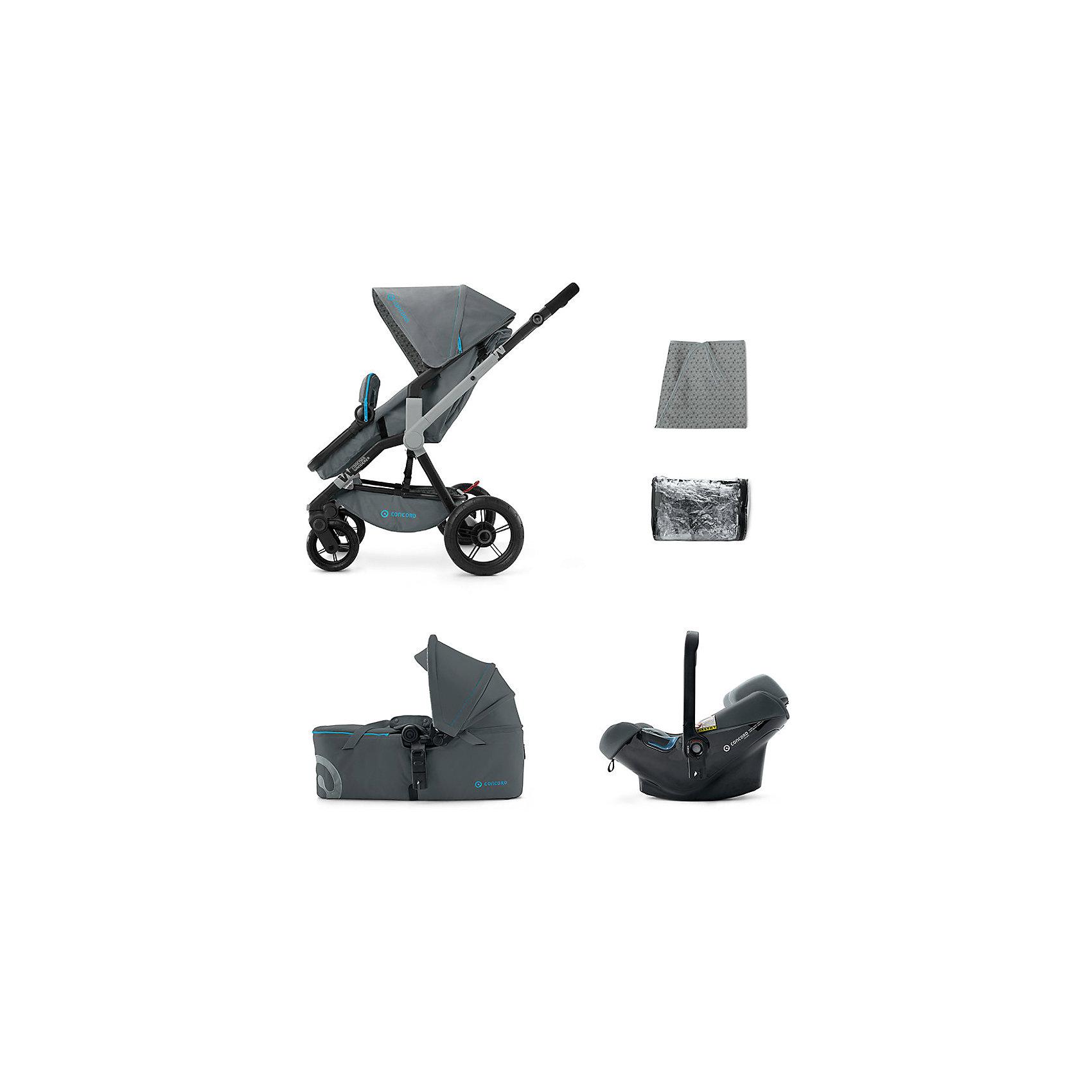 Коляска 3 в 1 Concord Wanderer Mobility Set, Stone Grey 2015