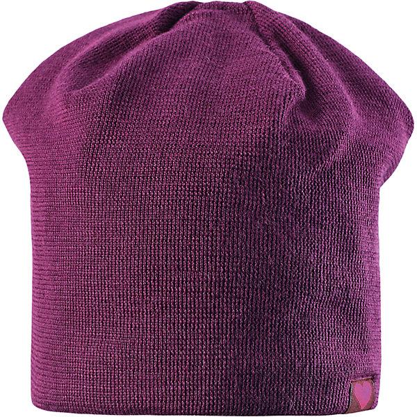 Шапка LASSIEШапки и шарфы<br>Шапка «Бини» для детей известной финской марки.<br><br>- Мягкая и теплая ткань из смеси шерсти.<br><br>- Ветронепроницаемые вставки в области ушей.<br>- Мягкая теплая подкладка из флиса. <br>- Помпон сверху. <br>- Декоративная структура поверхности. <br>- Светоотражающая эмблема Lassie® спереди.  <br><br>Рекомендации по уходу: Придать первоначальную форму вo влажном виде. <br><br>Возможна усадка 5 %.Состав: 50% Шерсть, 50% полиакрил.