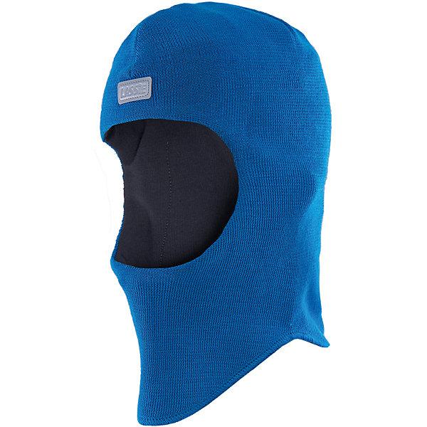 Шапка для мальчика LASSIEШапки и шарфы<br>Шапка-шлем для малышей известной финской марки.<br><br>- Мягкая и теплая ткань из смеси шерсти.<br>- Ветронепроницаемые вставки в области ушей.<br>- Мягкая подкладка из хлопка и эластана. <br>- Узор из цветных полос. <br>- Светоотражающая эмблема Lassie® спереди.<br><br> Рекомендации по уходу: Придать первоначальную форму вo влажном виде. Возможна усадка 5 %.<br><br>Состав: 50% Шерсть, 50% полиакрил.<br>Ширина мм: 89; Глубина мм: 117; Высота мм: 44; Вес г: 155; Цвет: синий; Возраст от месяцев: 6; Возраст до месяцев: 12; Пол: Мужской; Возраст: Детский; Размер: 44-46,54-56,46-48,50-52; SKU: 4781024;