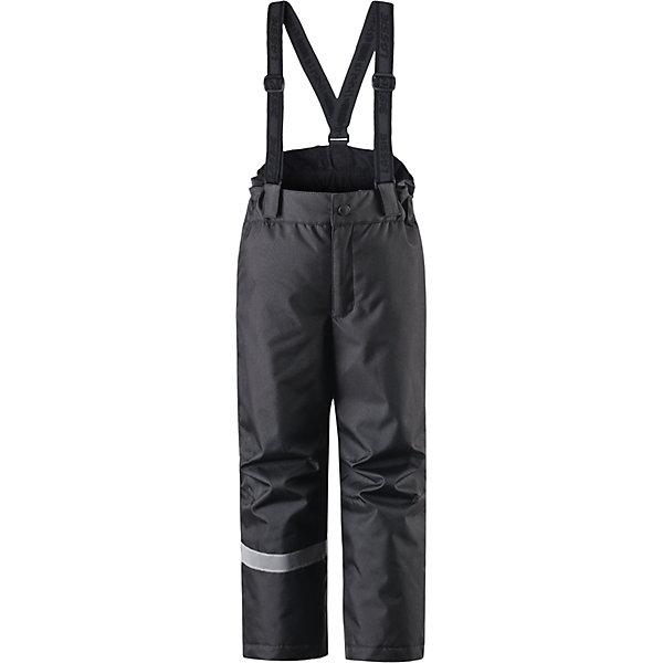 Брюки LASSIEОдежда<br>Зимние брюки для детей известной финской марки. <br><br>- Прочный материал. <br>- Водоотталкивающий, ветронепроницаемый, «дышащий» и грязеотталкивающий материал.<br>-  Задний серединный шов проклеен. свободный крой.<br>- Гладкая подкладка из полиэстра. <br>- Легкая степень утепления. <br>- Эластичный регулируемый обхват талии. <br>- Регулируемые брючины. Карманы в боковых швах.  <br><br>Рекомендации по уходу: Стирать по отдельности, вывернув наизнанку. Застегнуть молнии и липучки. Соблюдать температуру в соответствии с руководством по уходу. Стирать моющим средством, не содержащим отбеливающие вещества. Полоскать без специального средства. Сушение в сушильном шкафу разрешено при  низкой температуре.<br><br>Состав: 100% Полиамид, полиуретановое покрытие.  Утеплитель «Lassie wadding» 100гр.<br>Ширина мм: 215; Глубина мм: 88; Высота мм: 191; Вес г: 336; Цвет: черный; Возраст от месяцев: 24; Возраст до месяцев: 36; Пол: Унисекс; Возраст: Детский; Размер: 98,92,140,134,128,122,116,110,104; SKU: 4781916;