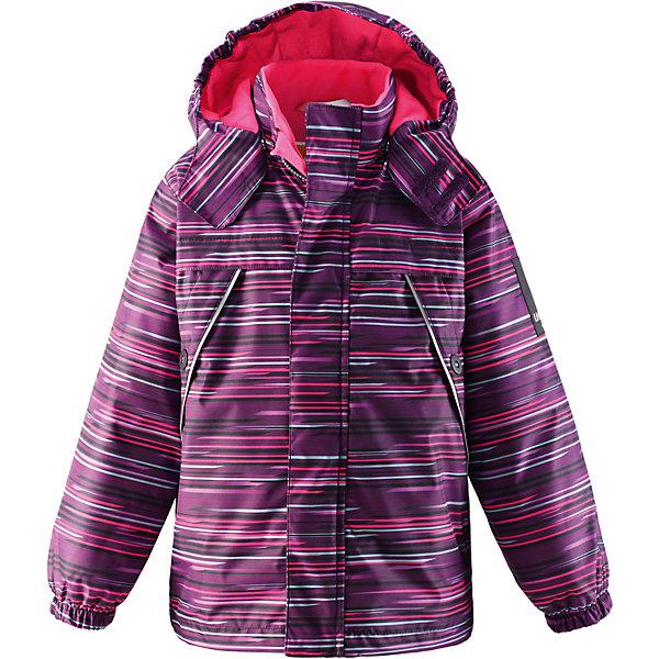 Куртка для девочки LASSIEОдежда<br>Зимняя куртка для детей Lassietec®. <br><br>- Водо- и ветронепроницаемый, «дышащий» и грязеотталкивающий материал.<br>- Внешние швы проклеены.<br>- Гладкая подкладка из полиэстра.<br>- Средняя степень утепления.<br>-  Безопасный, съемный капюшон.<br>- Эластичные манжеты. <br>- Регулируемый подол.<br>- Передние карманы. <br><br> Рекомендации по уходу: Стирать по отдельности, вывернув наизнанку. Застегнуть молнии и липучки. Соблюдать температуру в соответствии с руководством по уходу. Стирать моющим средством, не содержащим отбеливающие вещества. Полоскать без специального средства. Сушение в сушильном шкафу разрешено при  низкой температуре.<br><br>Состав: 100% Полиамид, полиуретановое покрытие.  Утеплитель «Lassie wadding» 140гр.<br>Ширина мм: 356; Глубина мм: 10; Высота мм: 245; Вес г: 519; Цвет: лиловый; Возраст от месяцев: 24; Возраст до месяцев: 36; Пол: Женский; Возраст: Детский; Размер: 98,104,140,134,92,116,128,122,110; SKU: 4782238;