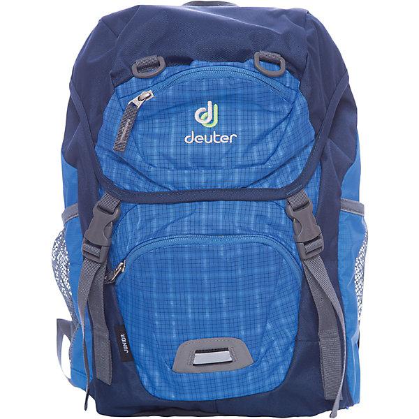 Deuter Deuter Рюкзак детский Junior, голубая клетка цена и фото
