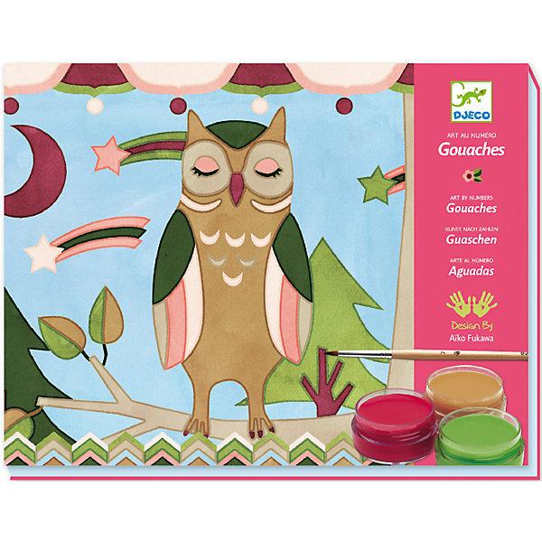 DJECO Набор картинок для раскрашивания Животные djeco набор карточек для раскрашивания животные